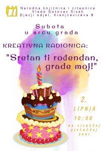 sretan rođendan narodna Subota u srcu grada: Sretan ti rođendan, grade moj! – Narodna  sretan rođendan narodna